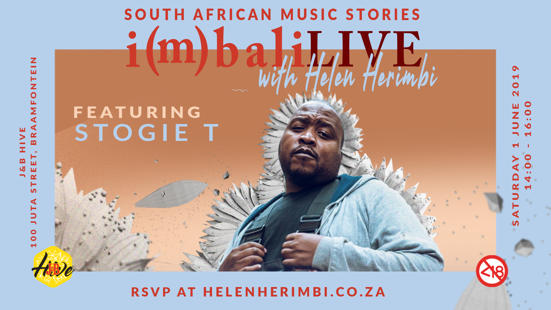 Stogie T appears on Helen Herimbi's i(m)bali LIVE